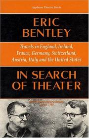 Cover of: In search of theater
