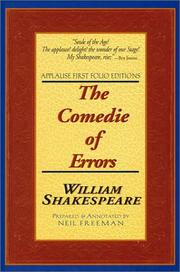 Cover of: The Comedie of Errors | William Shakespeare