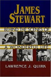 Cover of: James Stewart: Behind the Scenes of a Wonderful Life
