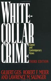 Cover of: The White-Collar Crime