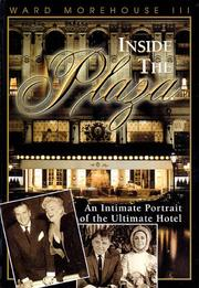 Cover of: Inside the Plaza | III, Ward Morehouse