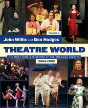 Cover of: Theatre World | John Willis