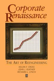 Cover of: Corporate Renaissance | Kelvin F. Cross