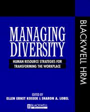 Cover of: Managing diversity |