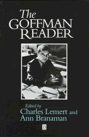 Cover of: The Goffman reader | Erving Goffman