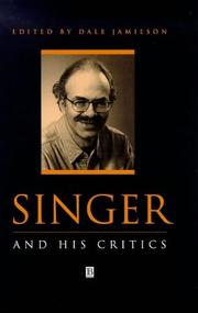 Cover of: Singer and his critics |