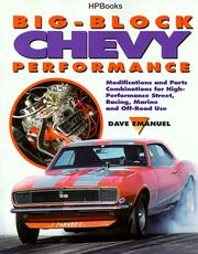 Cover of: Big-block Chevy performance
