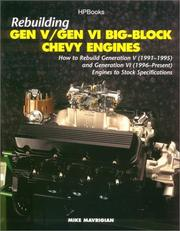 Cover of: Rebuild Gen V/ghp1357 | Mike Mavrigian
