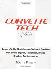 Cover of: Corvette tech Q & A