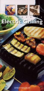 Cover of: The Book of Electric Grilling