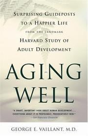 Cover of: Aging Well
