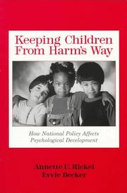 Cover of: Keeping children from harm's way
