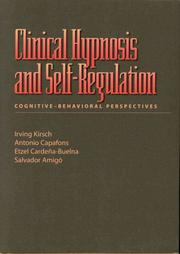 Cover of: Clinical hypnosis and self-regulation |