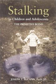 Cover of: Stalking in Children and Adolescents