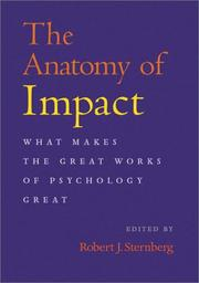 Cover of: The anatomy of impact
