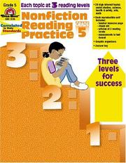 Cover of: Nonfiction Reading Practice, Grade 5