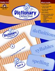 Cover of: Dictionary Detective Cards | Jo Ellen Moore