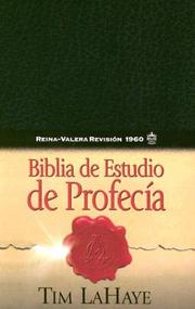 Cover of: Biblia De Estudio De Profecia