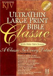 Cover of: Ultrathin Classic Bible |
