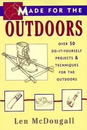 Cover of: Made for the outdoors