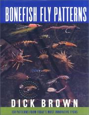 Cover of: Bonefish fly patterns