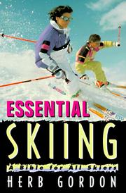 Cover of: Essential skiing