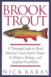 Cover of: Brook trout