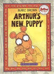 Cover of: Arthur's New Puppy (Arthur Adventure Series)