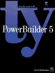 Cover of: PowerBuilder 5