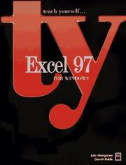Cover of: Excel 97 for Windows | John Weingarten