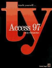 Cover of: Access 97 for Windows