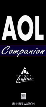 Cover of: AOL companion | Jennifer Watson