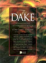 Cover of: Dake Annotated Reference Bible |