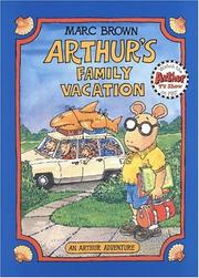 Cover of: Arthur's Family Vacation (Arthur Adventure Series)