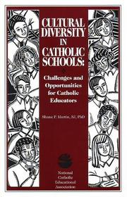 Cover of: Cultural diversity in Catholic schools