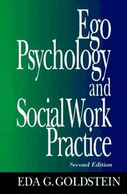 Cover of: Ego psychology and social work practice by Eda G. Goldstein