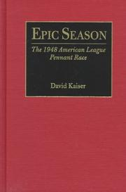 Cover of: Epic season