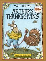 Cover of: Arthur's Thanksgiving (Arthur Adventure Series)