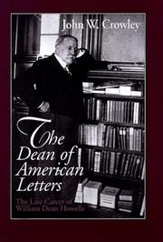 Cover of: The Dean of American Letters