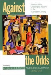 Cover of: Against the odds