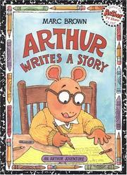 Cover of: Arthur Writes a Story (Arthur Adventure Series)