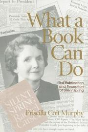 Cover of: What a Book Can Do | Priscilla Coit Murphy