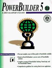 Cover of: PowerBuilder 5 | David McClanahan