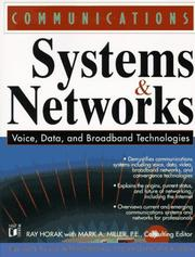 Cover of: Communications systems and networks