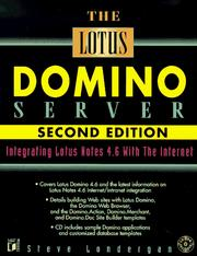 Cover of: The Lotus Domino server