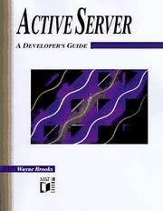 Cover of: The Active Server