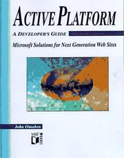 Cover of: Active Platform: A Developer