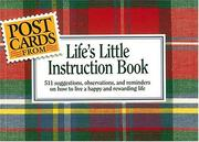 Cover of: Postcards from Life's Little Instruction Book
