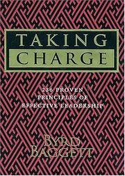 Cover of: Taking Charge | Byrd Baggett
