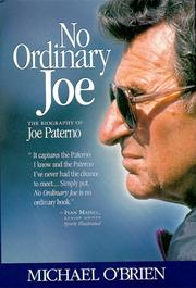 No ordinary Joe by O'Brien, Michael